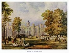 Football at Rugby School, England